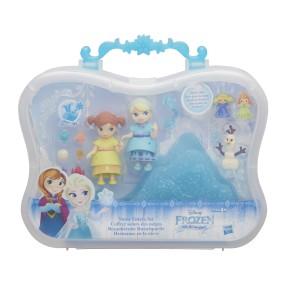 Hasbro Disney Frozen Kraina Lodu - Zestaw Śnieżne siostrzyczki Lalka Anna i Elsa B7468