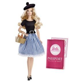 Barbie Collector - Lalki Świata Lalka Barbie Francuzka X8420