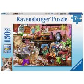 Ravensburger - Puzzle XXL Koty w kuchni 150 elem. 100316