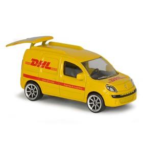 Majorette - Pojazdy miejskie Kurier DHL Renault Kangoo 2057500