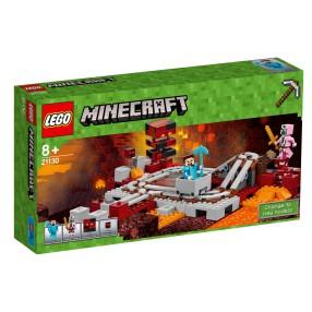LEGO Minecraft - Linia kolejowa w Netherze 21130