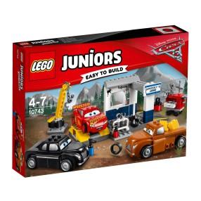 LEGO Auta 3 - Warsztat Smokey'ego 10743