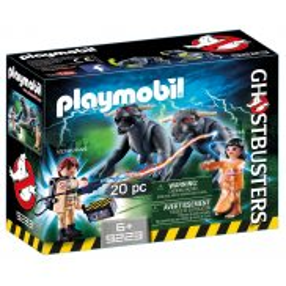 Playmobil - Pogromcy Duchów - Venkman i Terror-psy 9223