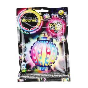 Illooms - Podświetlany balon LED Lampion zmieniający kolor 80056
