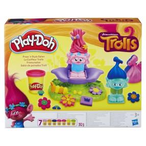 Play-Doh - Zestaw ciastoliny Salon fryzjerski Trolli B9027