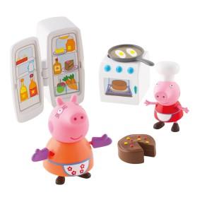 TM Toys Świnka Peppa - Zestaw Kuchnia Peppy i 2 figurki 05512