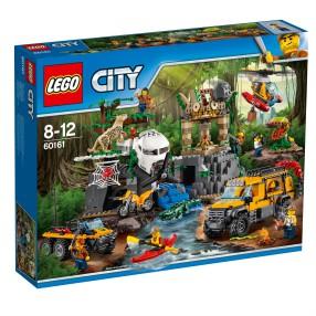 LEGO CITY - Baza w dżungli 60161