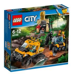 LEGO CITY - Misja półgąsienicowej terenówki 60159