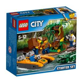 LEGO CITY - Dżungla - zestaw startowy 60157