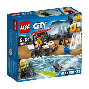 LEGO CITY - Straż przybrzeżna - zestaw startowy 60163