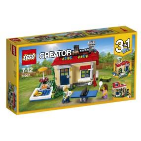 LEGO Creator - Wakacje na basenie 3w1 31067