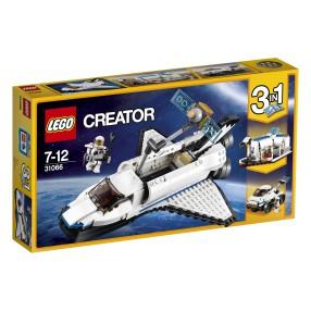 LEGO Creator - Odkrywca z promu kosmicznego 3w1 31066