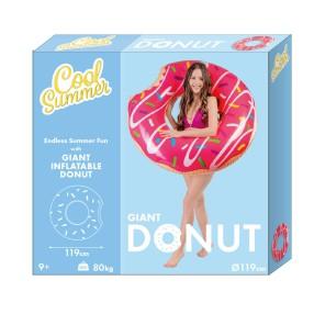 TM Toys - Materac dmuchany Cool Summer Donut Pączek DKJ0235