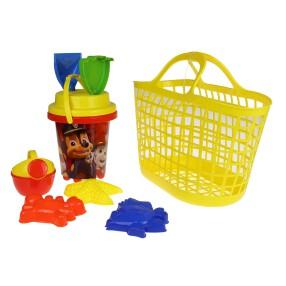 TM Toys - Koszyk i wiaderko z akcesoriami Psi Patrol DKI8272