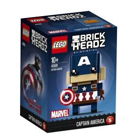 LEGO BrickHeadz - Captain America 41589