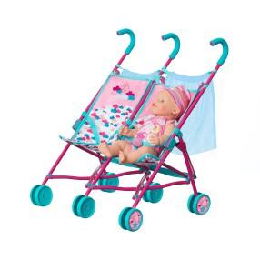 BABY born - Wózek spacerówka dla bliźniaków 1423493