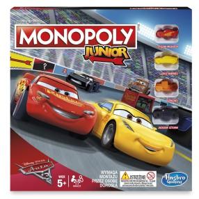 Hasbro - Monopoly Junior Cars Auta 3 C1343 Polska Wersja!
