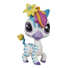 Littlest Pet Shop - Figurka podstawowa Zebra Zinnia Gardner B1763 Edycja Specjalna