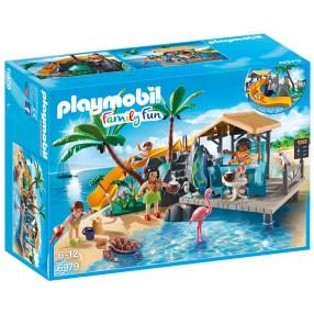 Playmobil - Karaibska wyspa z barem na plaży 6979