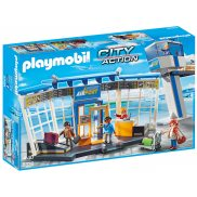 Playmobil - Lotnisko z wieżą kontrolną 5338