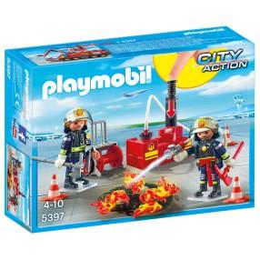 Playmobil - Straż pożarna z gaśnicą 5397