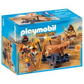 Playmobil - Egipcjanie z wyrzutnią 5388