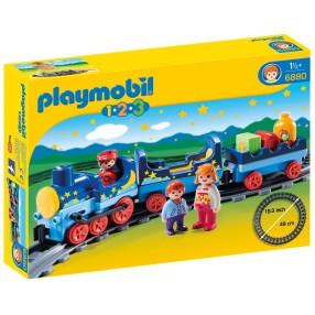 Playmobil - Gwiezdny pociąg z torami 6880