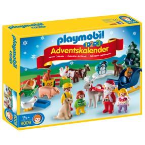 Playmobil - 1-2-3 Kalendarz adwentowy Święta w gospodarstwie rolnym 9009