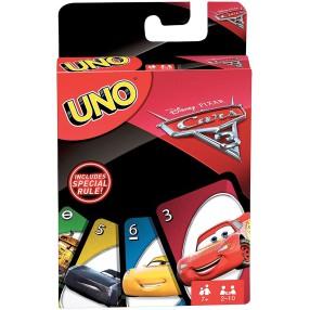 Mattel - Karty Gra UNO Cars Auta 3 FDJ15