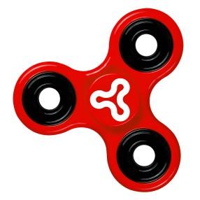 Trick Spin Fidge Spinner - Zabawka zręcznościowa Czerwony DKS8290