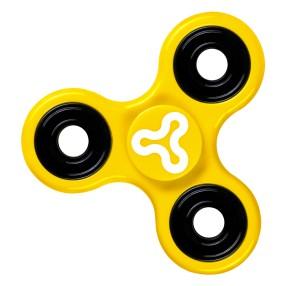 Trick Spin Fidge Spinner - Zabawka zręcznościowa Żółty DKS8290