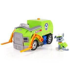 Psi Patrol - Pojazd delux Śmieciarka z figurką Rocky 20081819