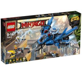 LEGO Ninjago Movie - Odrzutowiec Błyskawica 70614