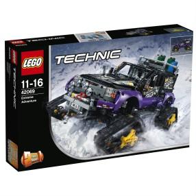 LEGO Technic - Ekstremalna przygoda 2w1 42069