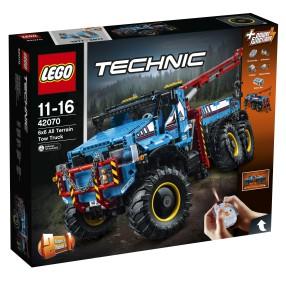 LEGO Technic - Terenowy holownik 6x6 2w1 42070