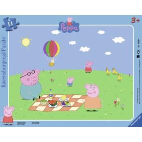 Ravensburger - Puzzle Peppa na pikniku 060641