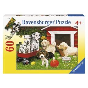 Ravensburger - Puzzle Impreza szczeniaczków 60 elem. 095261