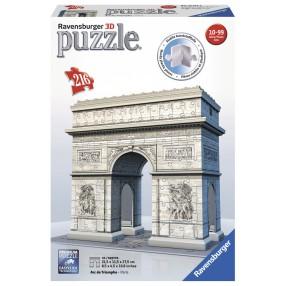 Ravensburger - Puzzle 3D Łuk Triumfalny 216 elem. 125142