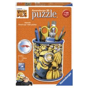 Ravensburger - Puzzle 3D Minionki 3 Przybornik 54 elem. 112616