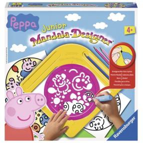 Ravensburger - Mandala Junior Zestaw do rysowania Świnka Peppa 297542