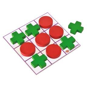 Eichhorn - Drewniana gra Kółko i krzyżyk 72310