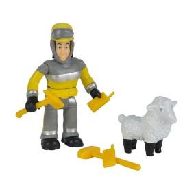Simba - Strażak Sam Zestaw 2 figurek Elvis i owieczka Wolly 9259746