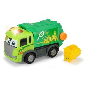 Dickie - Happy Scania Śmieciarka z napędem Światło Dźwięk 3816001