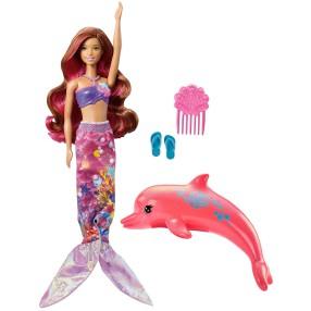 Barbie Delfiny z magicznej wyspy - Tajemnicza syrenka FBD64