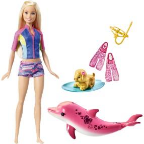 Barbie Delfiny z magicznej wyspy - Nurkowanie z delfinem FBD63