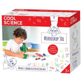 TM Toys - Cool Science Nauka i zabawa - Mikroskop 30x DKN4003