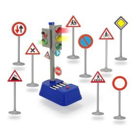 Dickie City - Znaki drogowe i sygnalizator 3741001