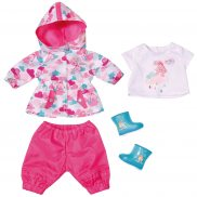 BABY born - Zestaw ubranek na deszcz dla lalki 823781