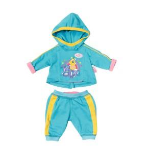 BABY born - Ubranko sportowe - dresik niebieski dla lalki 823774 A