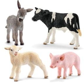 Schleich - Młode zwierzęta z gospodarstwa 13848